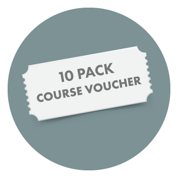 10 pack course voucher