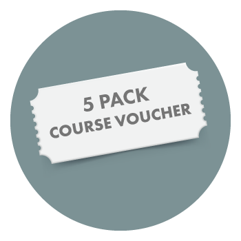 5 pack course voucher